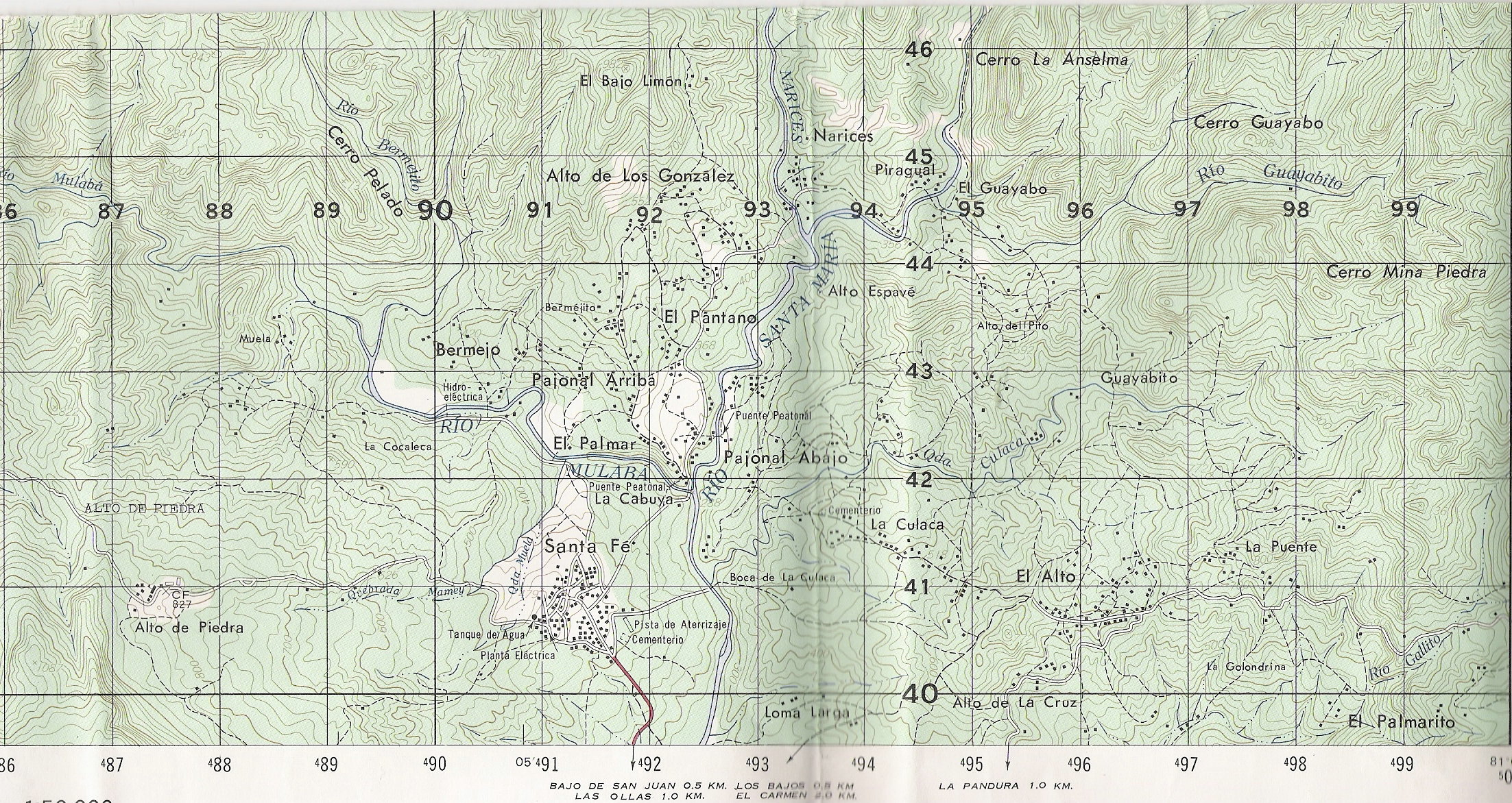 Topographic Map Of Panama.Santa Fe Found Beauty Of Topographic Maps Innside Coffee