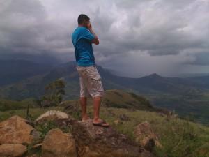 Cerro Tute overlooking Santa Fe Valley in Veraguas, Panama