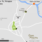 Map to Charco Pato, Santa Fe, Veraguas