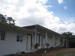 Construction, Coffee Mountain Inn Santa Fe, Panama - August