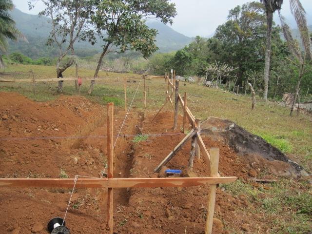 Construction Santa Fe, Panama February