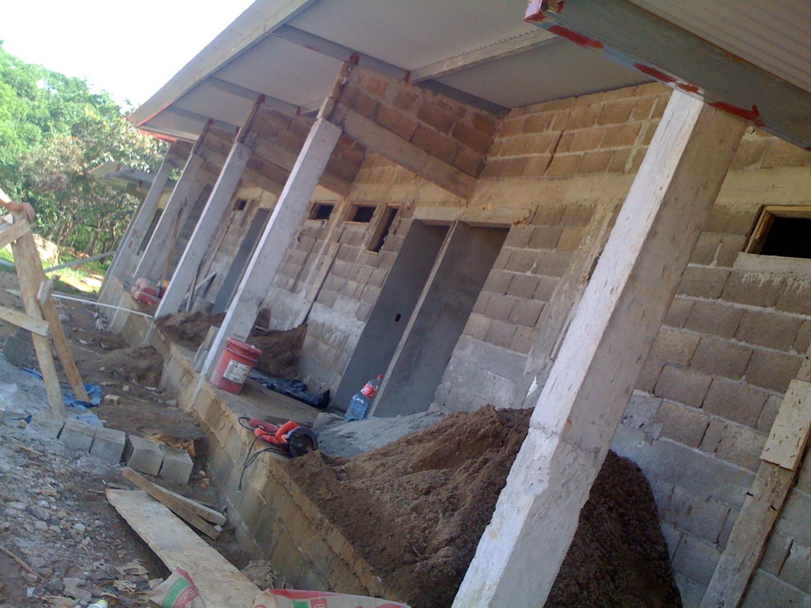 Construction Santa Fe, Panama June
