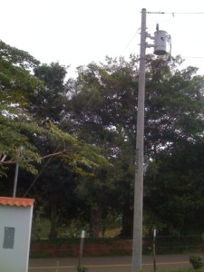 Utility Line with new Transfomer