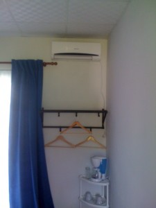 And the end product - air conditioning (or aire in Spanish)